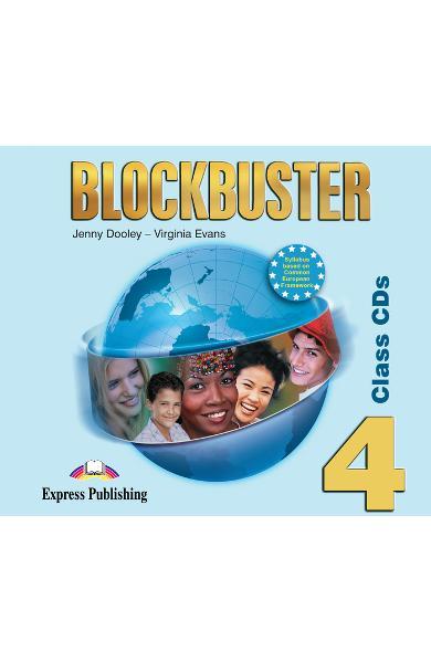 Curs limba engleză Blockbuster 4 Audio CD (set 4 CD-uri)