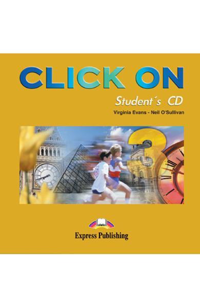 Curs limba engleza Click On 3 Audio CD elev 978-1-84216-737-3