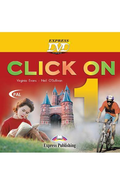 Curs limba engleză Click On 1 DVD 978-1-84466-499-3
