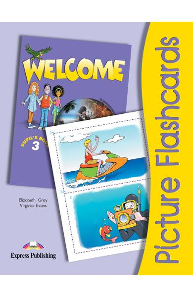 Curs limba engleză Welcome 3 Picture Flashcards 978-1-84325-307-5