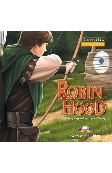 LITERATURA ADAPTATA PT. COPII BENZI DESENATE ROBIN HOOD DVD 978-1-84558-879-3