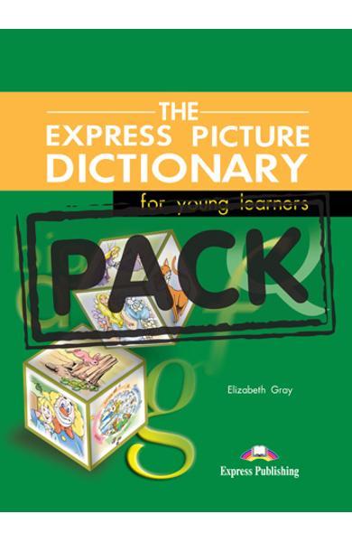 Dicționar ilustrat The Express Picture Dictionary Pachetul elevului