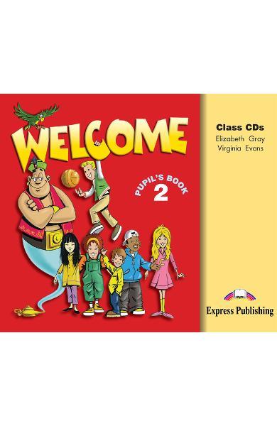 Curs limba engleză Welcome 2 Audio CD (set 3 CD) 978-1-903128-23-7