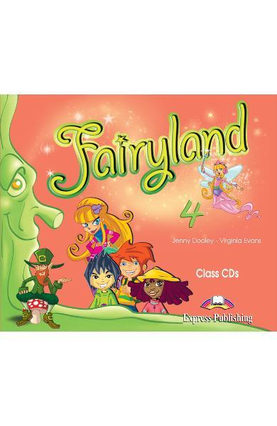 Curs limba engleză Fairyland 4 Audio CD (set 4 CD)