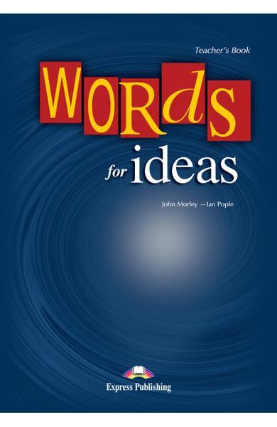 Curs lb. engleză vocabular words for ideas manualul profesorului