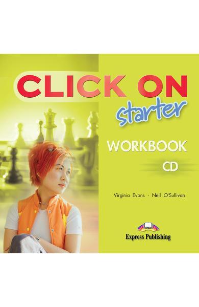 Curs limba engleză Click On Starter Audio CD pentru caietul elevului 978-1-84325-751-6