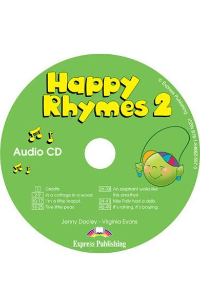 Curs limba engleză Happy Rhymes 2 Audio CD