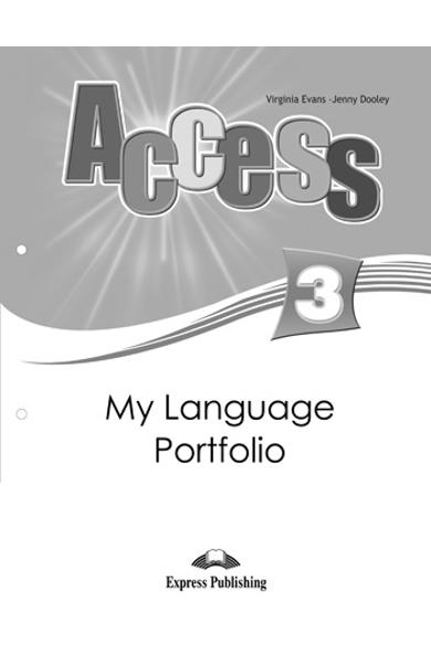 CURS LB. ENGLEZA ACCESS 3 MY LANGUAGE PORTFOLIO 978-1-84862-292-0