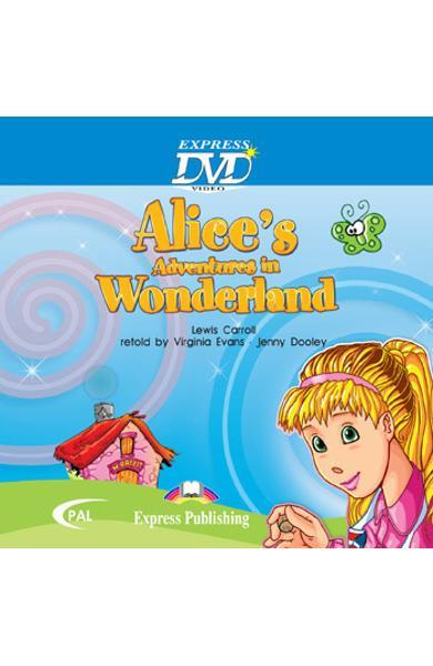 LITERATURA ADAPTATA PT. COPII ALICE S ADVENTURES IN WONDERLAND DVD 978-1-84862-445-0