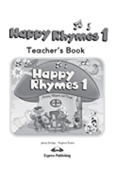Curs limba engleză Happy Rhymes 1 Manualul profesorului