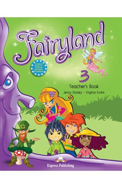Curs limba engleză Fairyland 3 Manualul profesorului cu postere
