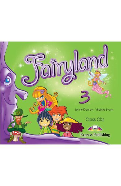 Curs limba engleză Fairyland 3 Audio CD (set 3 CD)