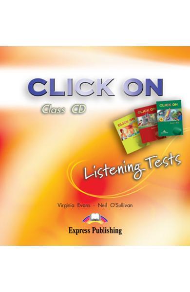 Curs limba engleza Click On Listening Tests CD audio pt. Starter,1 ,2 978-1-84466-081-0