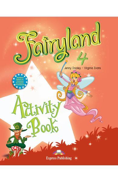 Curs limba engleză Fairyland 4 Caietul elevului