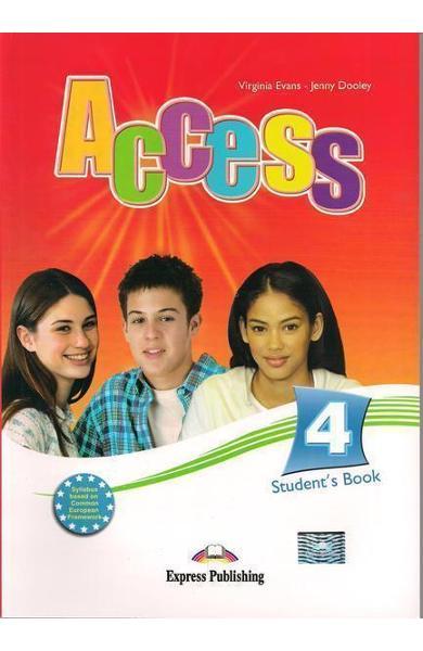 Curs limba engleză Access 4 Manualul elevului
