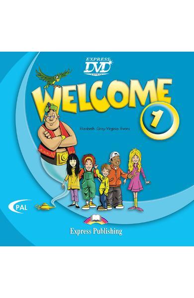Curs limba engleză Welcome 1 DVD 978-1-84558-154-1