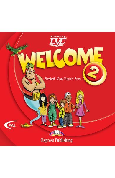 Curs limba engleză Welcome 2 DVD 978-1-84558-156-5
