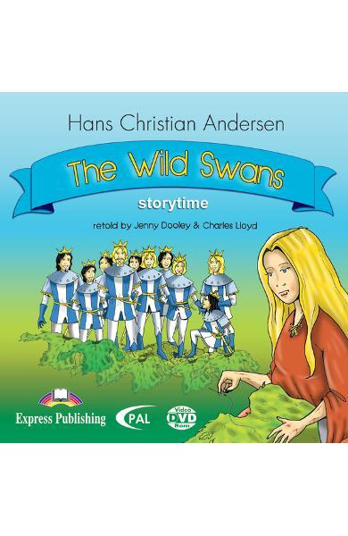 LITERATURA ADAPTATA PT. COPII THE WILD SWANS DVD ROM 978-1-84558-304-0