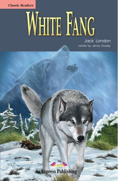 Literatură adaptată pentru copii White Fang (set carte + cd)
