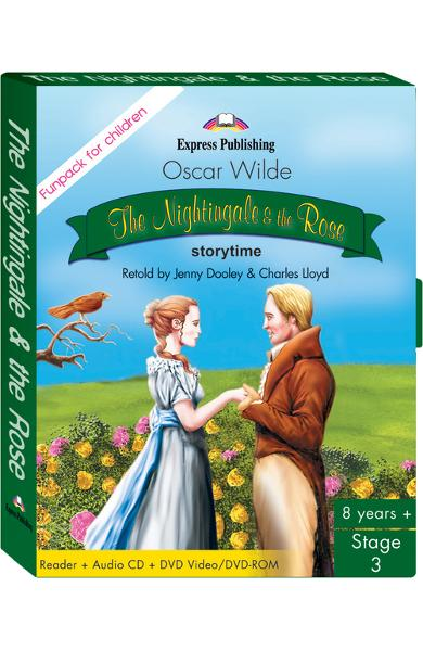 LITERATURA ADAPTATA PT. COPII THE NIGHTINGALE AND THE ROSE FUNPACK 978-1-84558-604-1