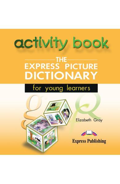 Dicționar ilustrat The Express Picture Dictionary CD cu activități