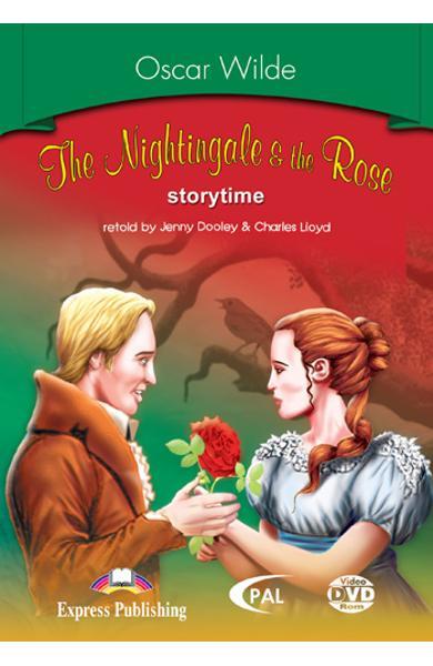 LITERATURA ADAPTATA PT. COPII THE NIGHTINGALE AND THE ROSE DVD ROM 978-1-84558-244-9