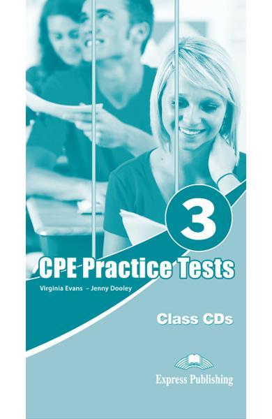 Teste limba engleză CPE Practice Tests 3 Audio CD (set 6 CD)