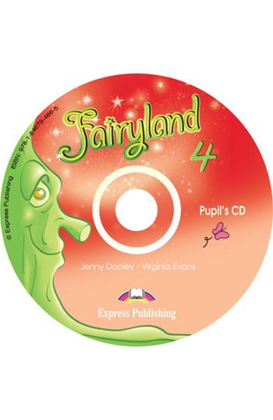 Curs limba engleza Fairyland 4 Audio CD elev