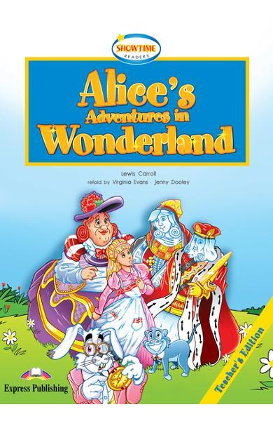 Literatură adaptată Alice`s Adventures in Wonderland Cartea profesorului