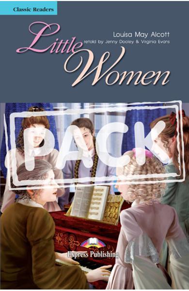 LITERATURA ADAPTATA PT. COPII LITTLE WOMEN SET CU AUDIO CD ( CARTE + AUDIO CD ) 978-1-84862-712-3