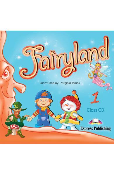 Curs limba engleză Fairyland 1 Audio CD