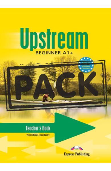 Curs limba engleza Upstream Beginner Pachetul Profesorului (Manualul Profesorului  + CD-ROM cu teste) 978-1-84679-693-7