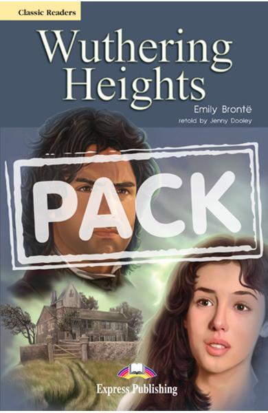 Literatura adaptata pt.copii - Wuthering Heights - Set: Carte + AUDIO CD 978-1-84679-835-1