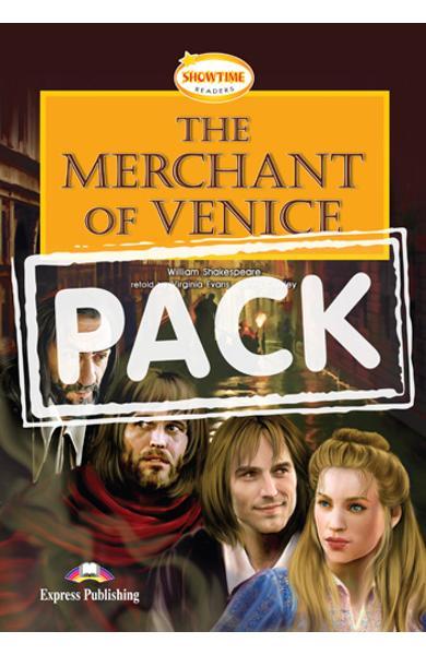 Literatura adaptata pt.copii - The Merchant of Venice - Set: Carte + AUDIO CD984-6-79036-503-2