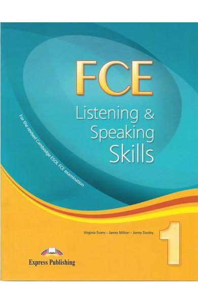 Teste limba engleză FCE Listening and Speaking Skills 1 Manualul elevului