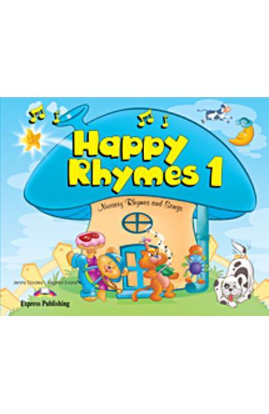 Curs limba engleză Happy Rhymes 1 Pachetul elevului