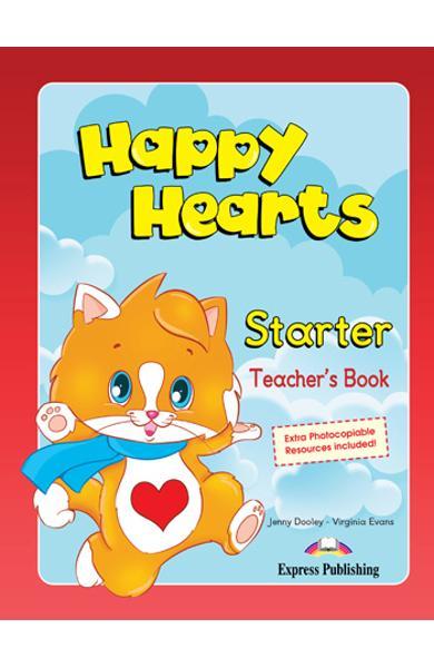Curs limba engleză Happy Hearts Starter Manualul profesorului