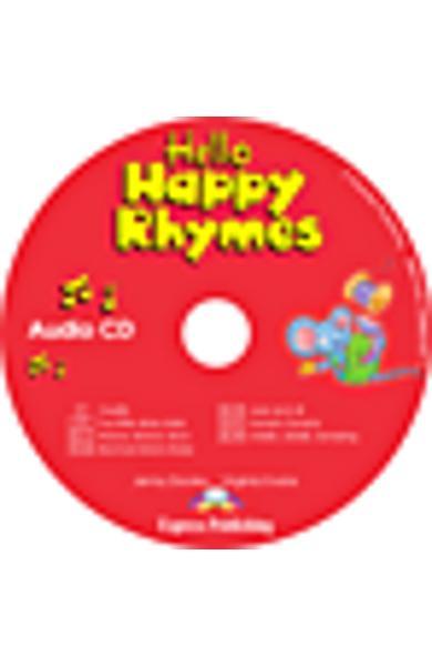Curs limba engleză Hello Happy Rhymes Audio CD