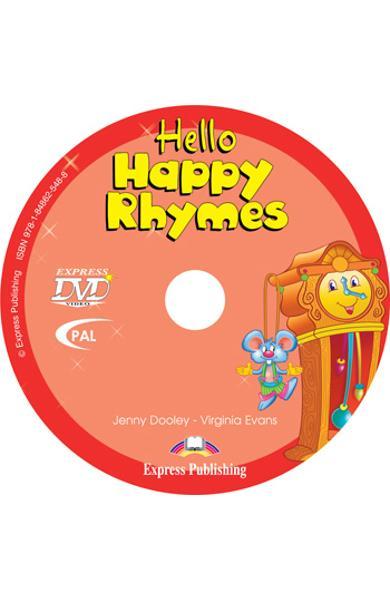 Curs limba engleză Hello Happy Rhymes DVD
