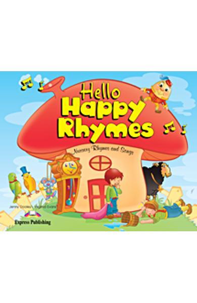 Curs limba engleză Hello Happy Rhymes Carte uriaşă