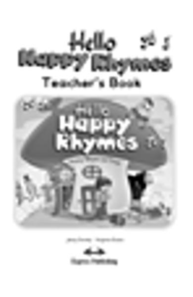 Curs limba engleză Hello Happy Rhymes Manualul profesorului