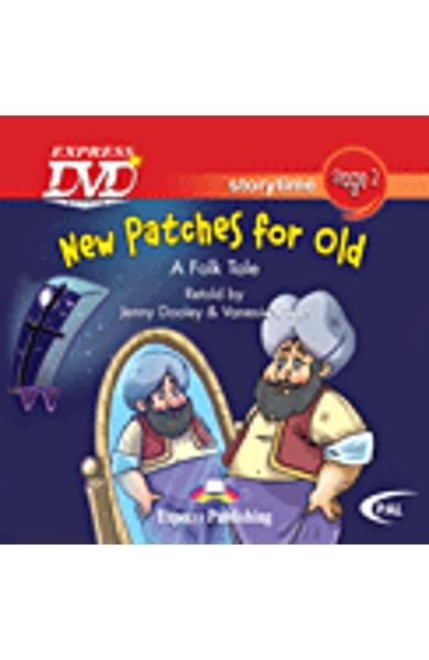 LITERATURA ADAPTATA PT. COPII NEW PATCHES FOR OLD DVD 978-1-84862-602-7