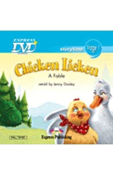 LITERATURA ADAPTATA PT. COPII CHICKEN LICKEN DVD 978-1-84862-823-6