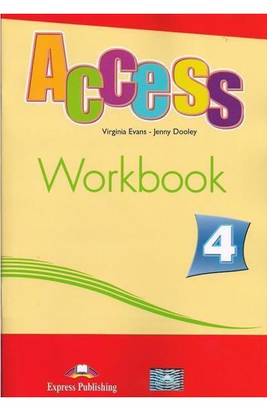 Curs limba engleză Access 4 Caietul elevului