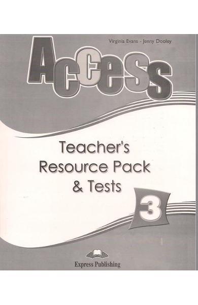 Curs limba engleză Access 3 Material adiţional pentru profesor şi teste
