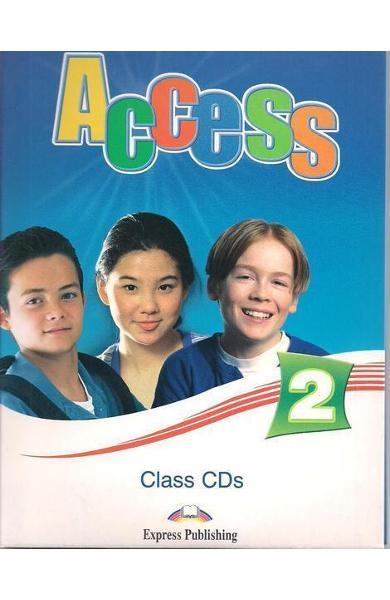 Curs limba engleză Access 2 Audio CD (set 4 CD)