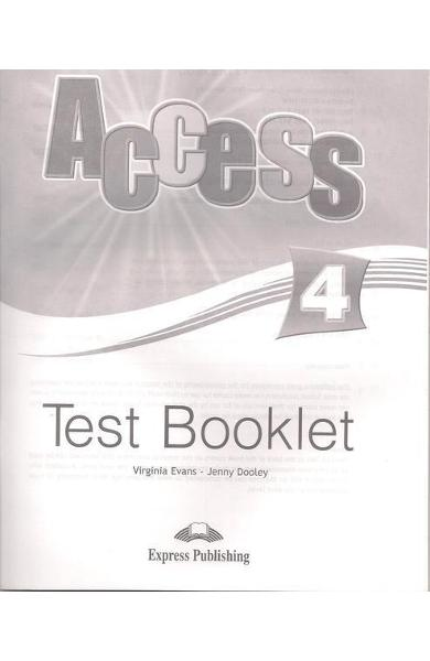 CURS LB. ENGLEZA ACCESS 4 TESTE 978-1-84862-284-5
