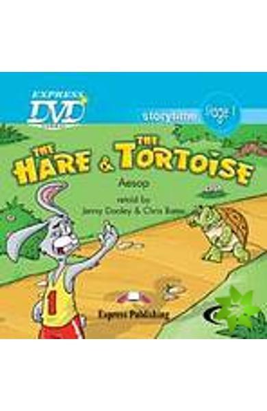 LITERATURA ADAPTATA PT. COPII THE HARE AND THE TORTOISE DVD 978-1-84679-590-7