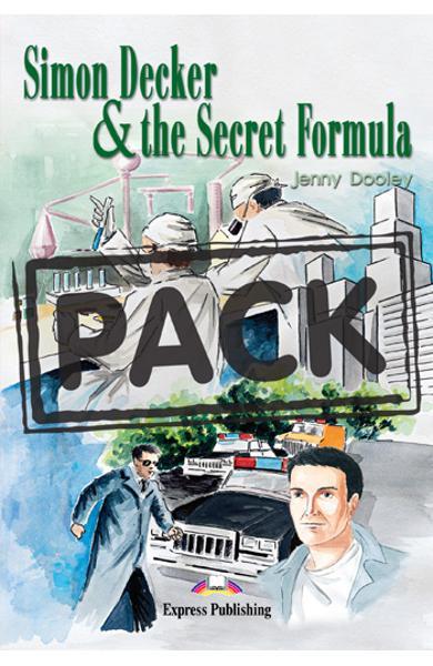 LITERATURA ADAPTATA PT. COPII SIMON DECKER AND THE SECRET FORMULA CU SET AUDIO CD ( CARTE + CAIET + AUDIO CD ) 978-1-84216-154-8