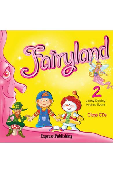 Curs limba engleză Fairyland 2 Class Audio CD (set 2 CD-uri)